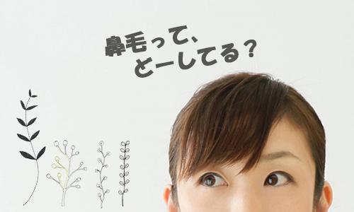鼻毛脱毛を考えてる女性
