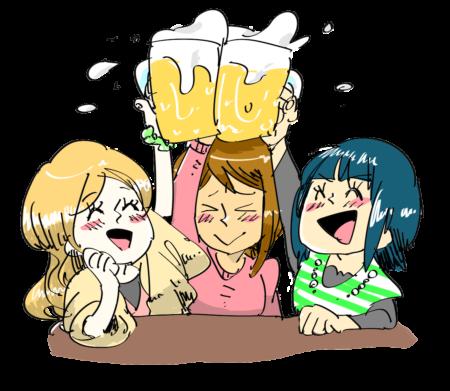 ヒゲ女の原因はたくさん飲むお酒